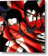 Depeche Mode 80s Heros Metal Print by Stefan Kuhn