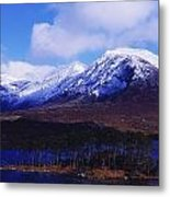 Derryclare Lough, Twelve Bens Metal Print by The Irish Image Collection