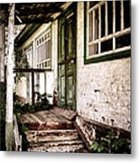 Deserted Not Forgotten Metal Print by Julie Palencia