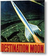 Destination Moon, 1950 Metal Print by Everett