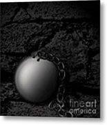 Detached Metal Print by Joe Russell