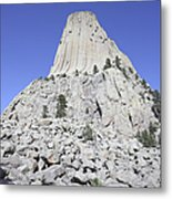 Devils Tower National Monument, Wyoming Metal Print by Richard Roscoe
