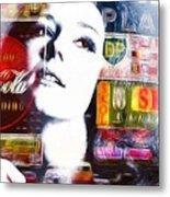 Diana Rigg Alias Emma Peel Metal Print by Stefan Kuhn