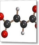 Dimethyl Fumarate Allergen Molecule Metal Print by Dr Mark J. Winter