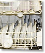 Dishes In A Dishwasher Metal Print by David Buffington