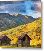 Distant Storm Metal Print by Jeff Kolker
