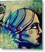 Diving Into The Unknown Metal Print by Paulo Zerbato