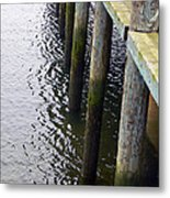 Dock Of The Bay  Metal Print by Pamela Patch