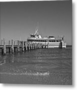 Docking For A Moment Metal Print by Betsy Knapp