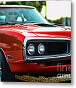 Dodge Super Bee Classic Red Metal Print by Paul Ward