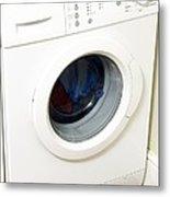 Domestic Washing Machine Metal Print by Johnny Greig