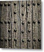 Door Detail Metal Print by Elena Elisseeva