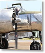 Douglas A26b Military Aircraft 7d15763 Metal Print by Wingsdomain Art and Photography
