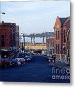 Downtown Eastport Maine Metal Print by Geri Harkin-Tuckett