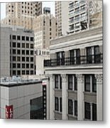 Downtown San Francisco Buildings - 5d19323 Metal Print by Wingsdomain Art and Photography