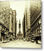 Dreamy Philadelphia Metal Print by Bill Cannon