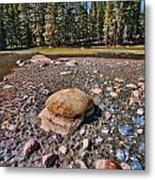 Dry Lake Metal Print by Bonnie Bruno