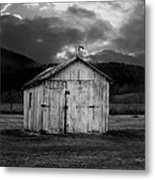Dry Storm Metal Print by Ron Jones