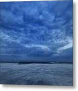 Dusk On Fire Island Metal Print by Rick Berk