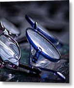 Dusty Reflections Metal Print by Brenda Bryant