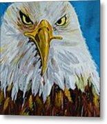 Eagle Metal Print by Ismeta Gruenwald