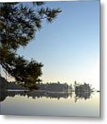 Early Morning On Lost Lake Metal Print by Michelle Calkins