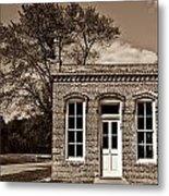 Early Office Building Metal Print by Douglas Barnett