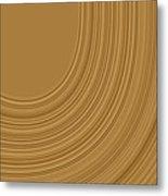 Earthy Swirls Metal Print by Bonnie Bruno