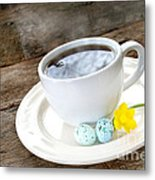 Easter Coffee Metal Print by Darren Fisher