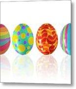Easter Eggs Metal Print by Carlos Caetano