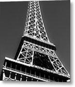Eiffel Tower Vegas Style Metal Print by Leslie Leda