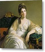 Eleanor Francis Grant - Of Arndilly Metal Print by Tilly Kettle