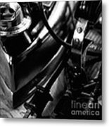 Electric Irons And Plugs Metal Print by Wilma  Birdwell