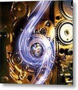 Electromechanics, Conceptual Image Metal Print by Richard Kail