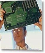 Electronics Engineer Metal Print by Adam Gault
