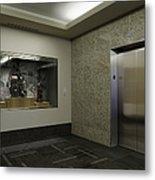 Elevator Metal Print by Robert Pisano