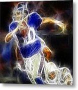 Eli Manning Quarterback Metal Print by Paul Ward