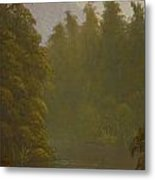 Ellery River 1977 Metal Print by Terry Perham
