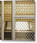 Empty Jail Holding Cell Metal Print by Jeremy Woodhouse