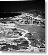 End Of The Main Road At White River Canyon Akamas Peninsula Republic Of Cyprus Europe Metal Print by Joe Fox