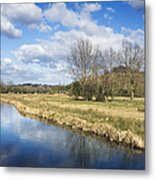 English Countryside Metal Print by Jane Rix