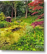 English Garden  Metal Print by Adrian Evans