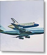 Enterprise 5 Metal Print by S Paul Sahm
