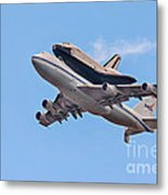 Enterprise Space Shuttle  Metal Print by Susan Candelario