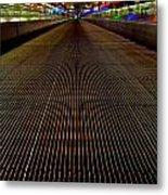 Escalator View ... Metal Print by Juergen Weiss