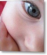 Eye Of Innocence Metal Print by Valia Bradshaw
