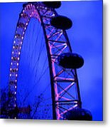 Eye Of London Metal Print by Roberto Alamino