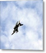 F-16 Of The Belgian Air Force Metal Print by Luc De Jaeger