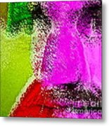 Face To Face Metal Print by Gwyn Newcombe