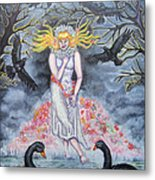 Fair Maiden Metal Print by Amiee Johnson